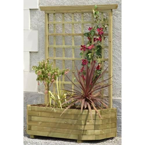 Jardineira de madeira mural 130 treli a venda - Amazon jardineras ...