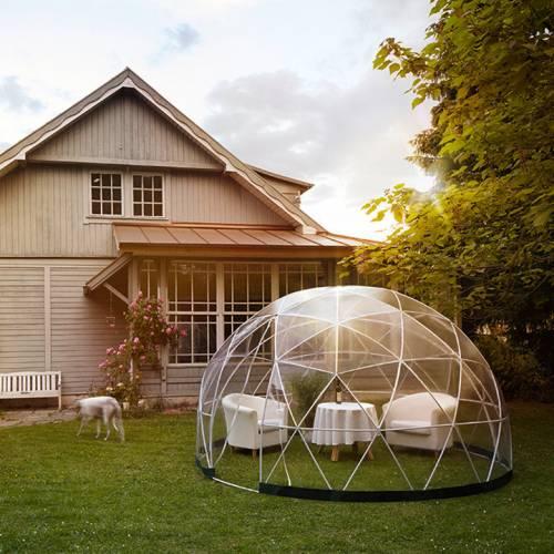 Abrigo de jardim polivalente 10m garden igloo venda - Cortavientos de jardin ...