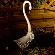 Animal Decorativo Luminoso - Cisne