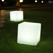 Cubo Multicor Luminoso Solar – 32 x 30 x 30 cm